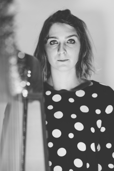 Becca Skeoch- Harp- Photo by Somhairle MacDonald
